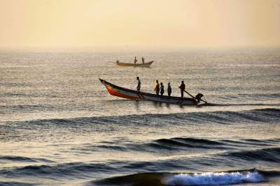 Fishing Hard-work in Chennai Beaches