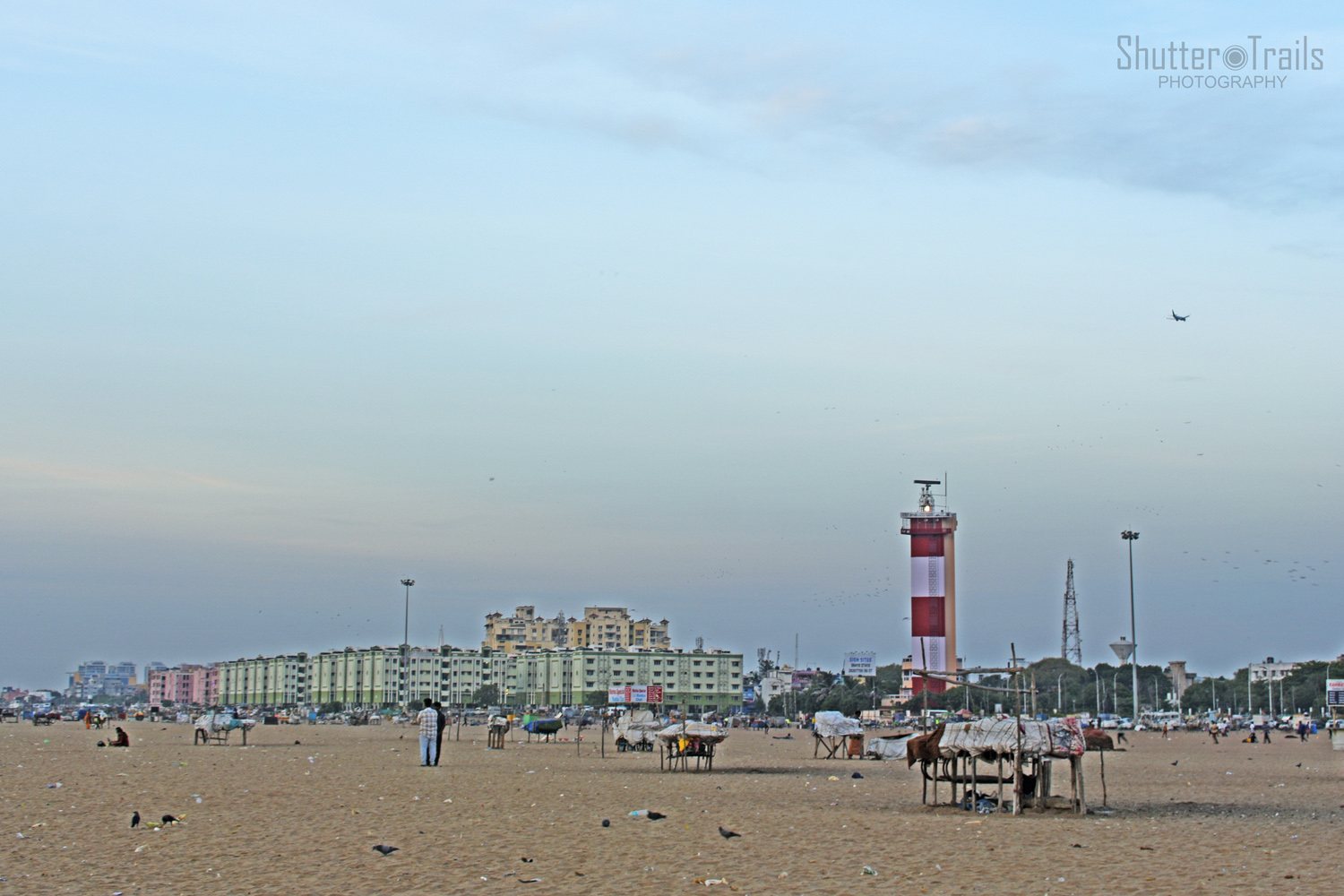 Morning Chennai - Marina Light House
