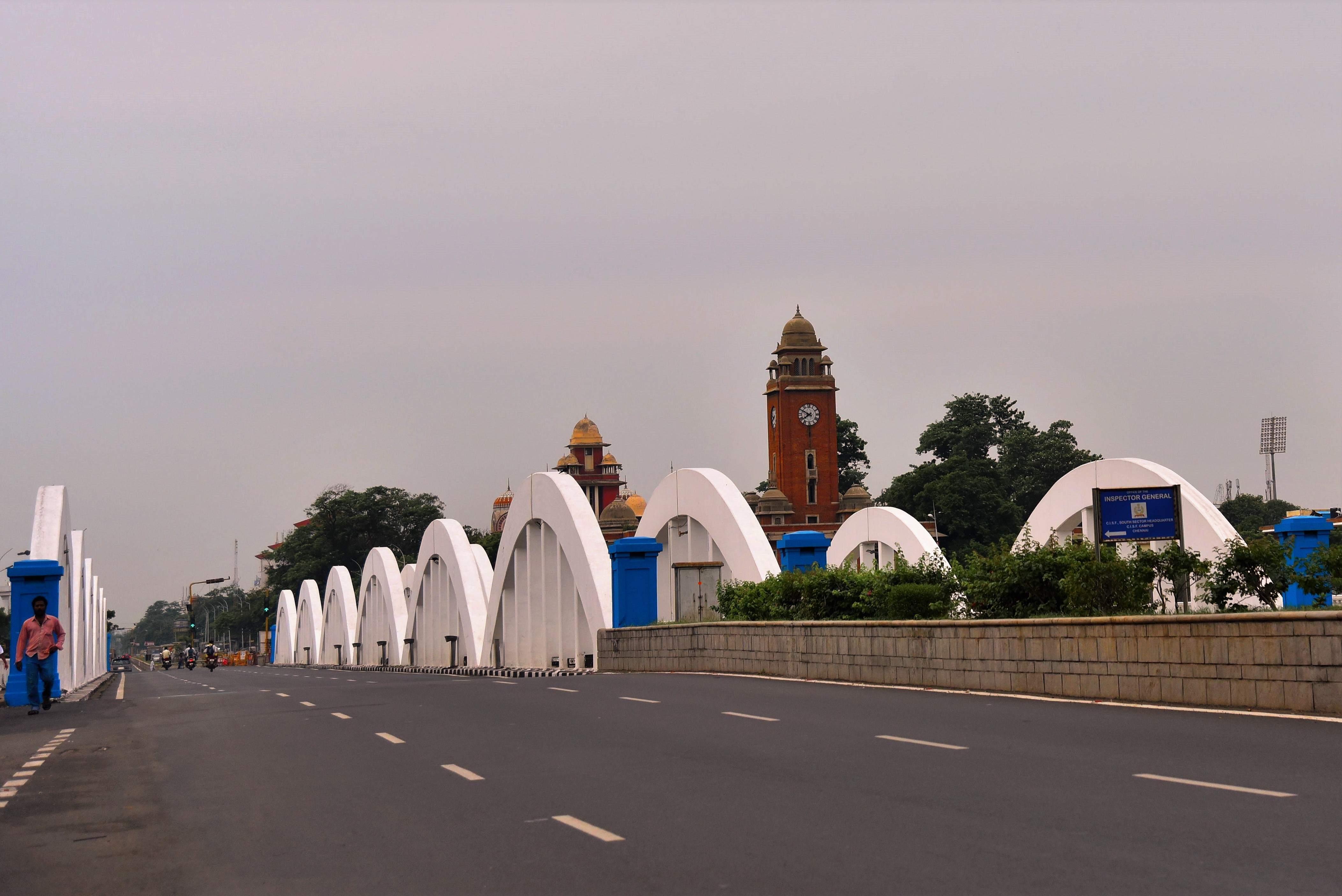 Nama Napier Bridge and University of Madras
