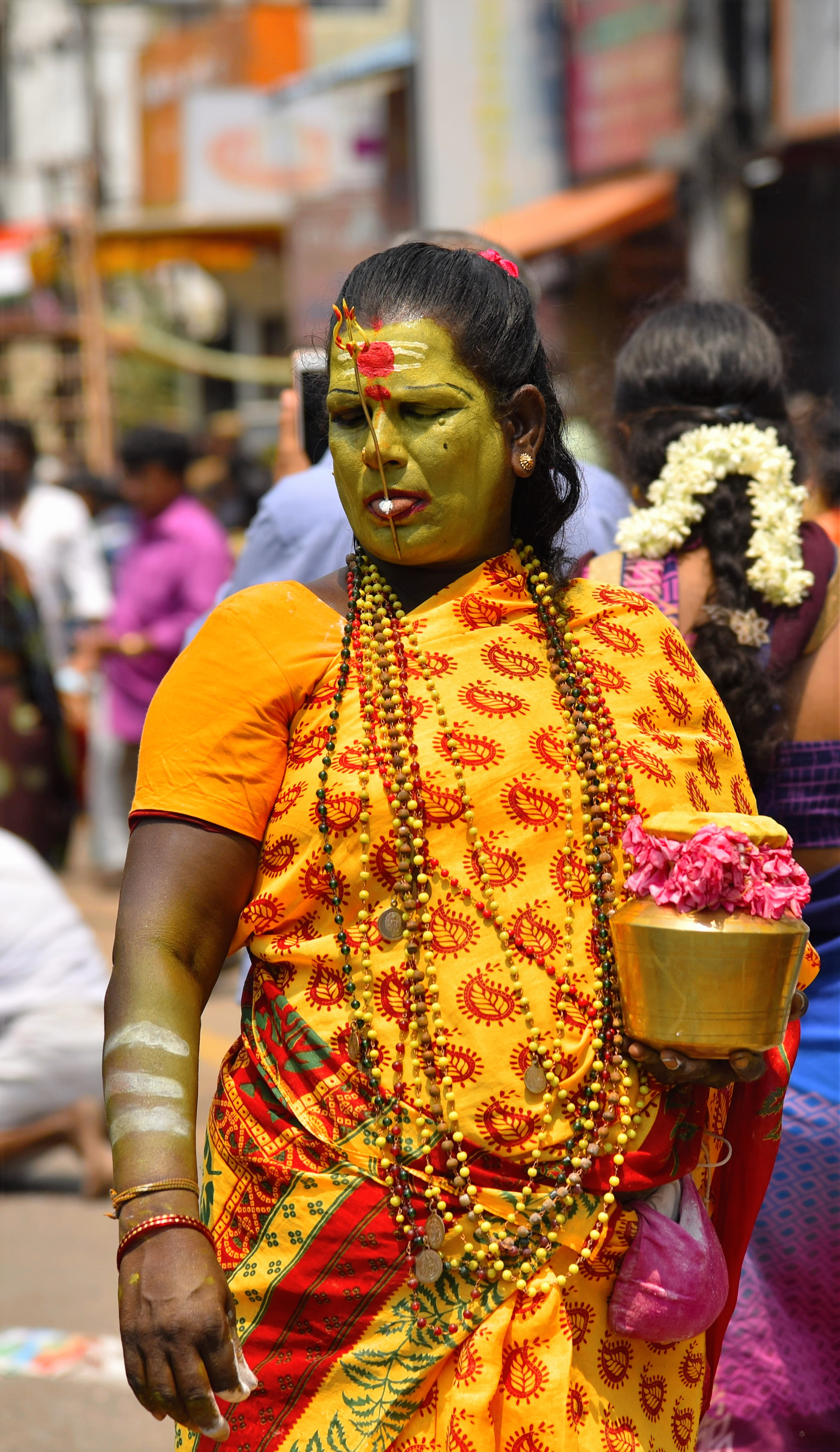 A special Devotee during Mylapore Festival