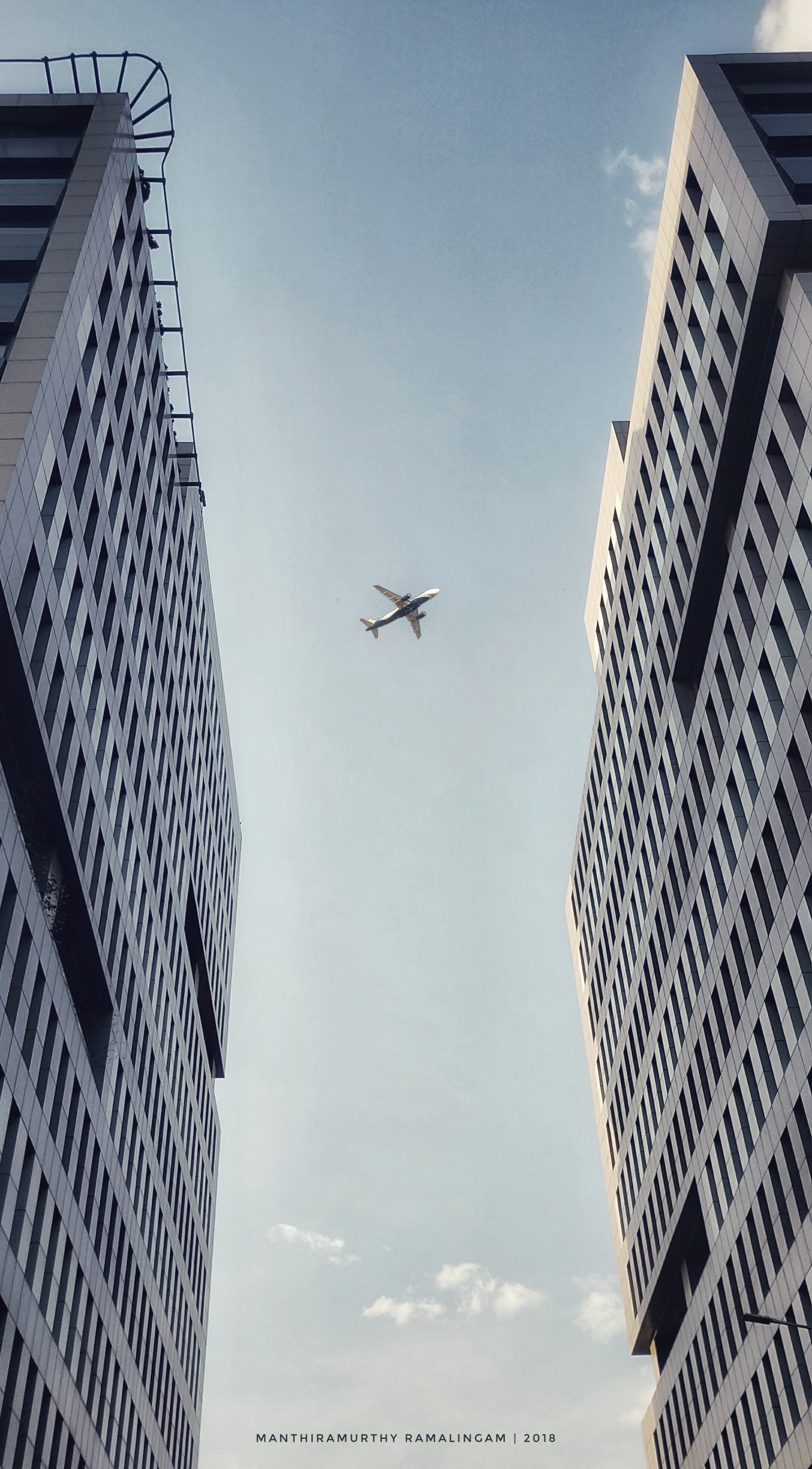 Flying Amidst Concrete Jungle