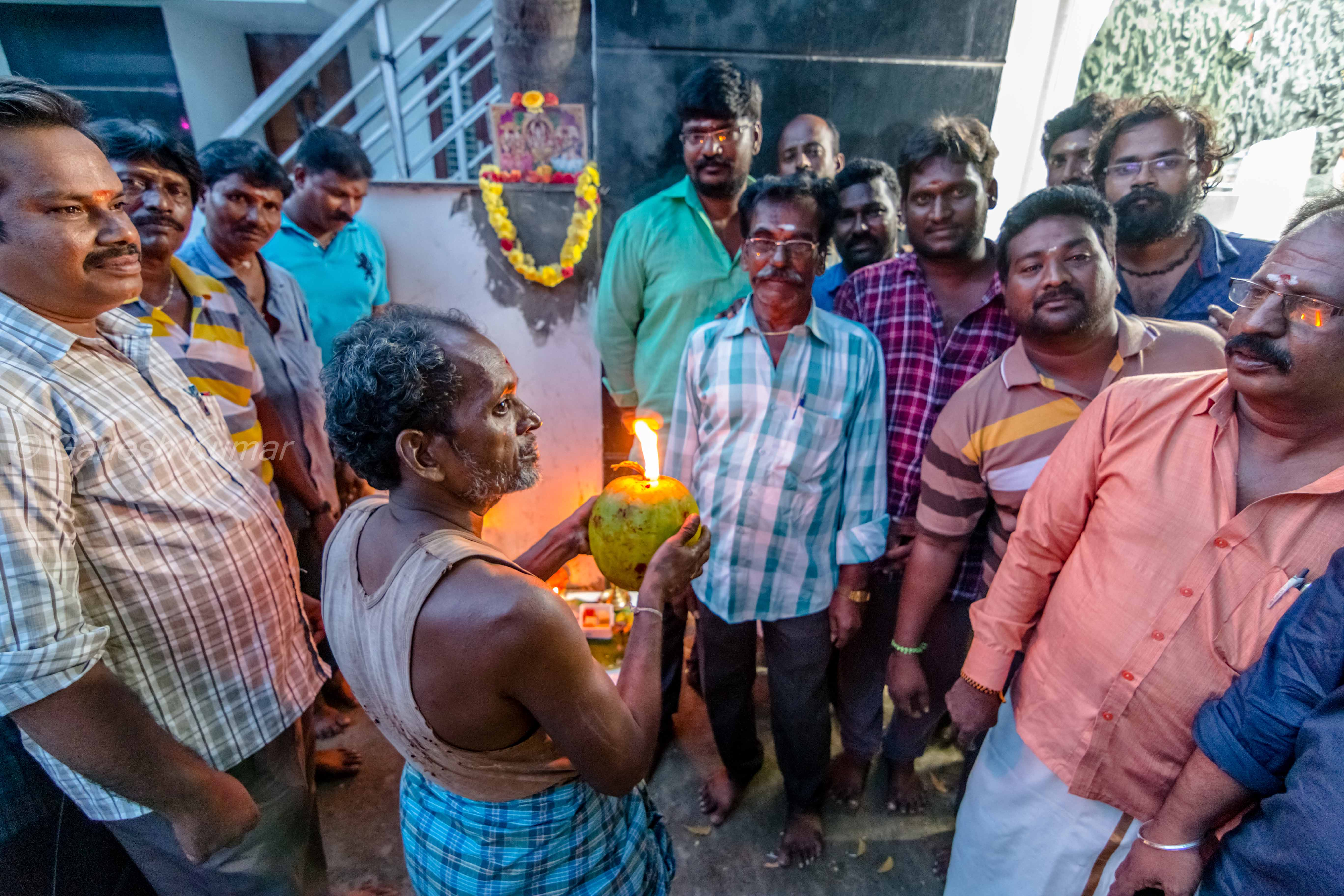 Dhrishti pooja for auto drivers