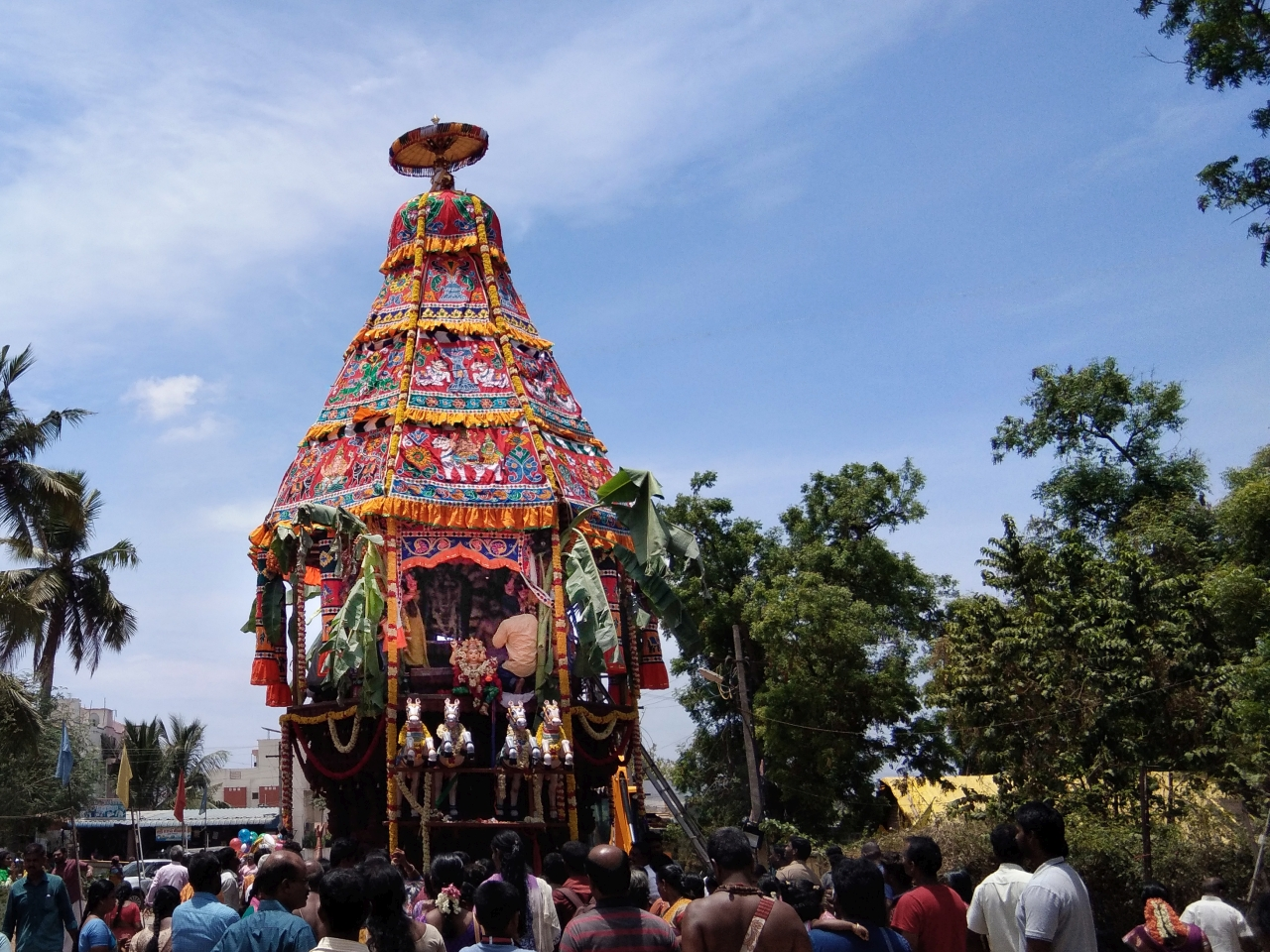 Brahmotsavam Festival at Thenubureeswarar Temple