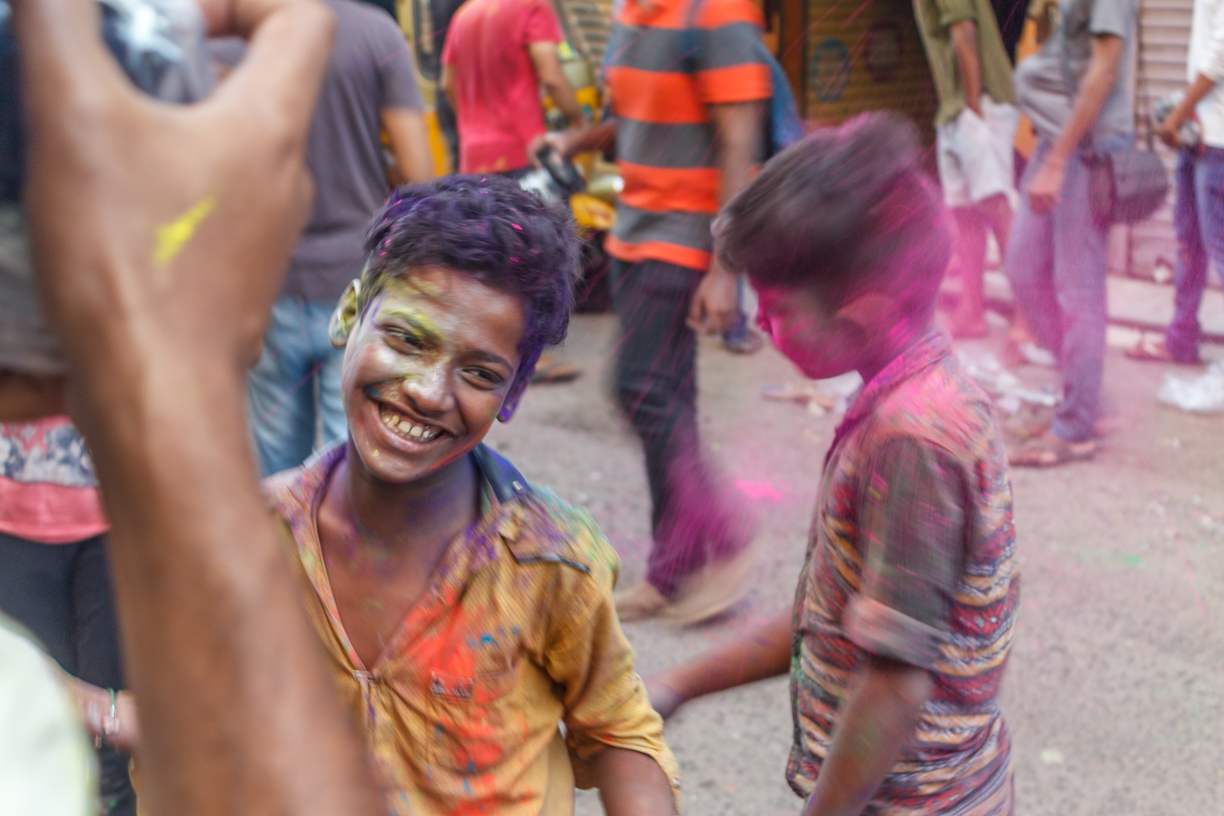 Holi, a colorful festival in Chennai