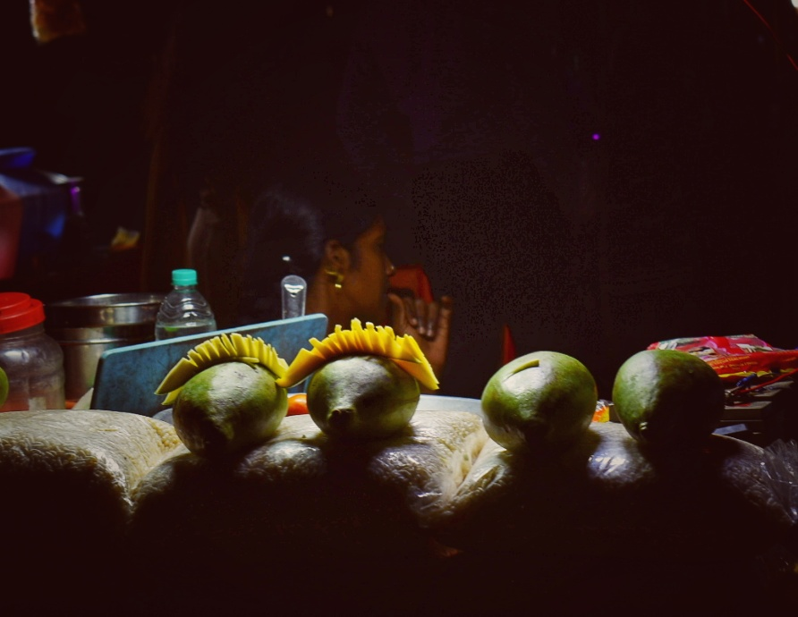 Tangy Mango during Night Walk at Marina
