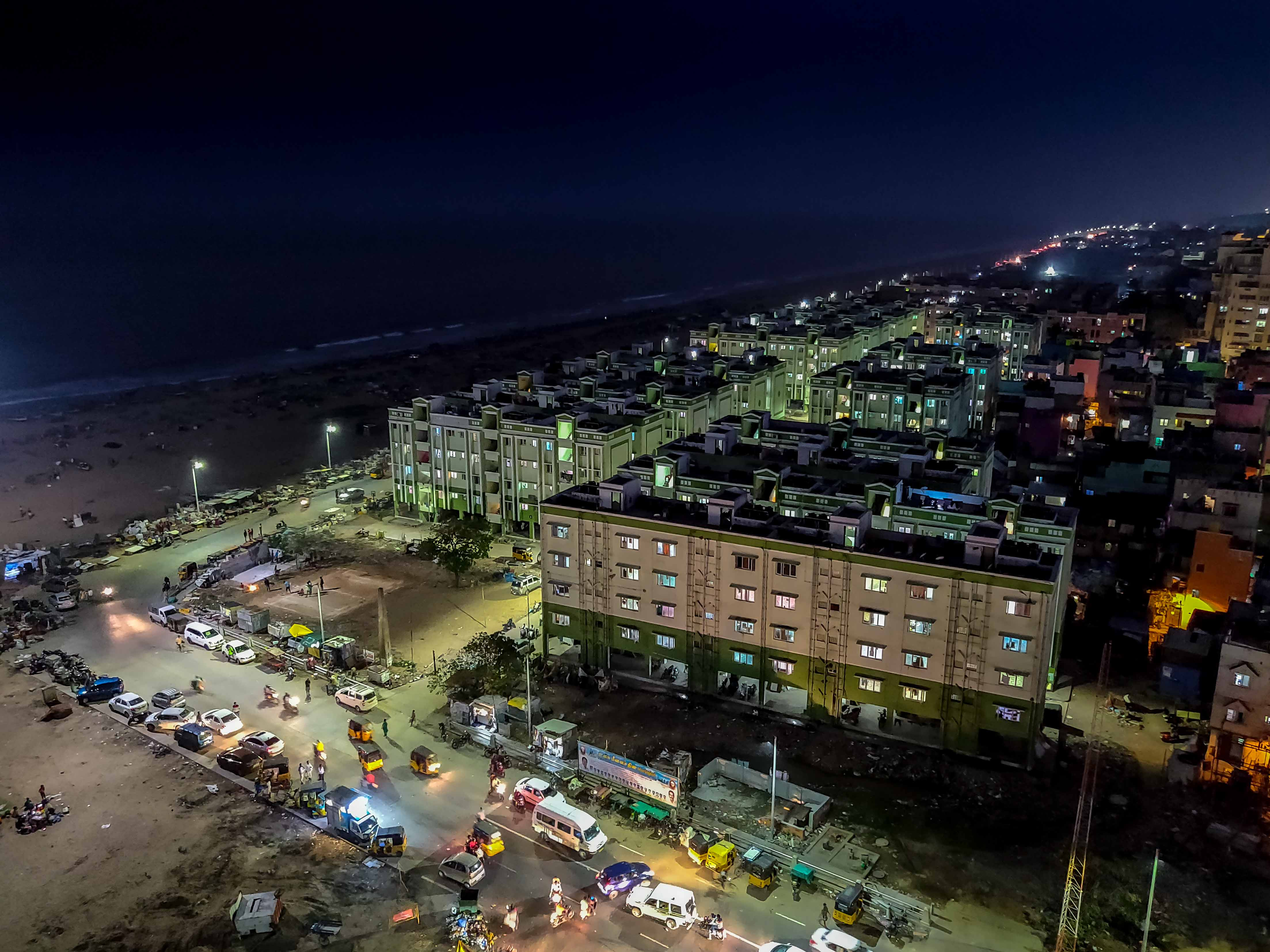 Night Life of Chennai