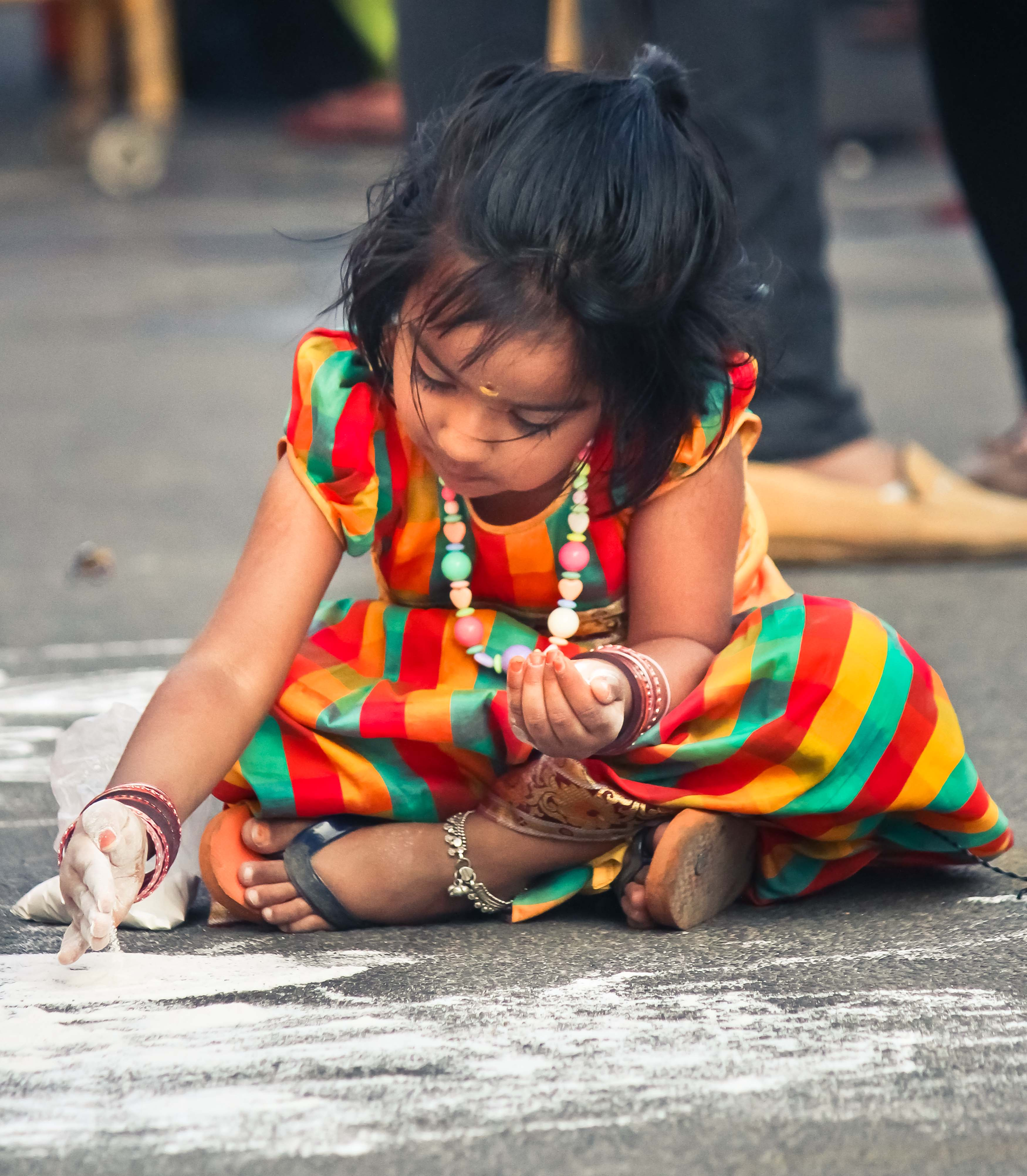 on serious kolam