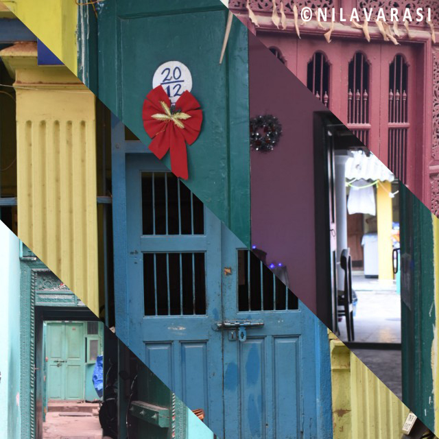 Colourful gates in chennai