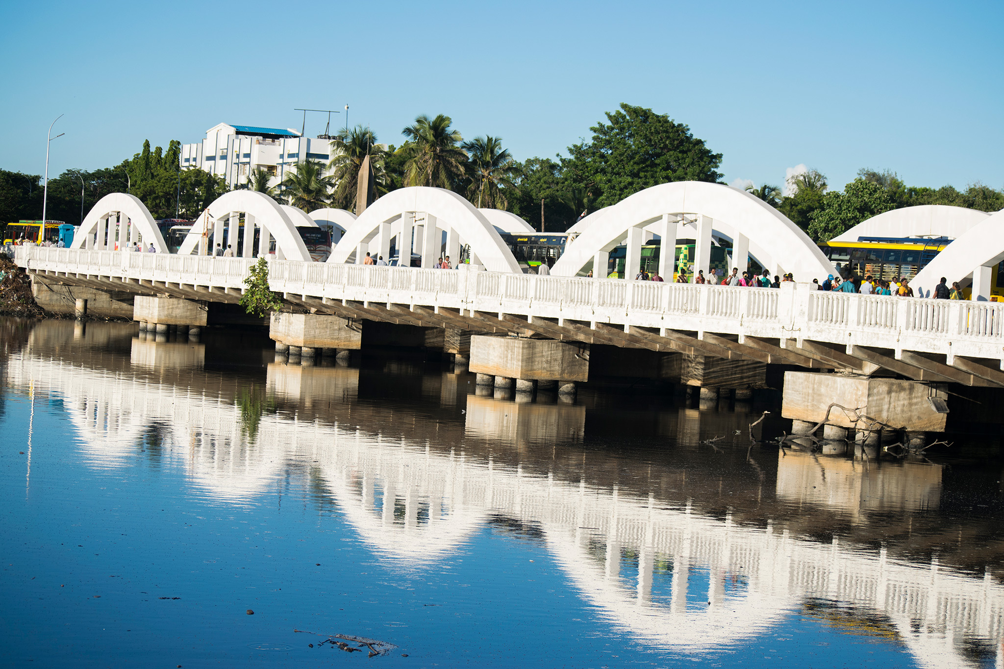 Napier bridge (Landmark of Madras)