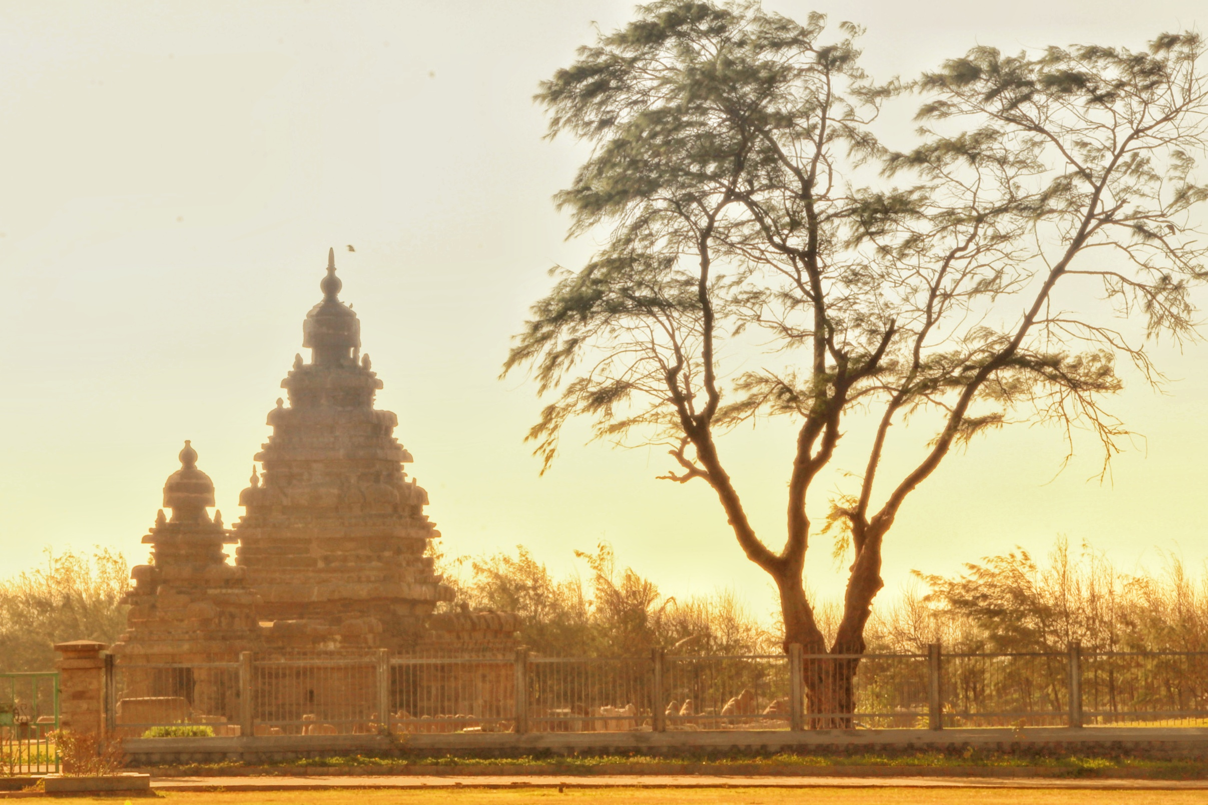 Landmark of Madras - Mamallapuram Shore Temple
