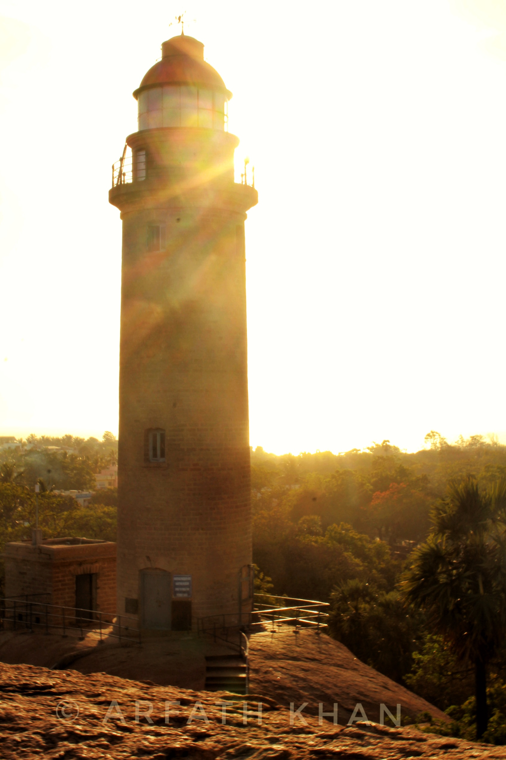 Landmark of Madras - Mamallapuram Light House