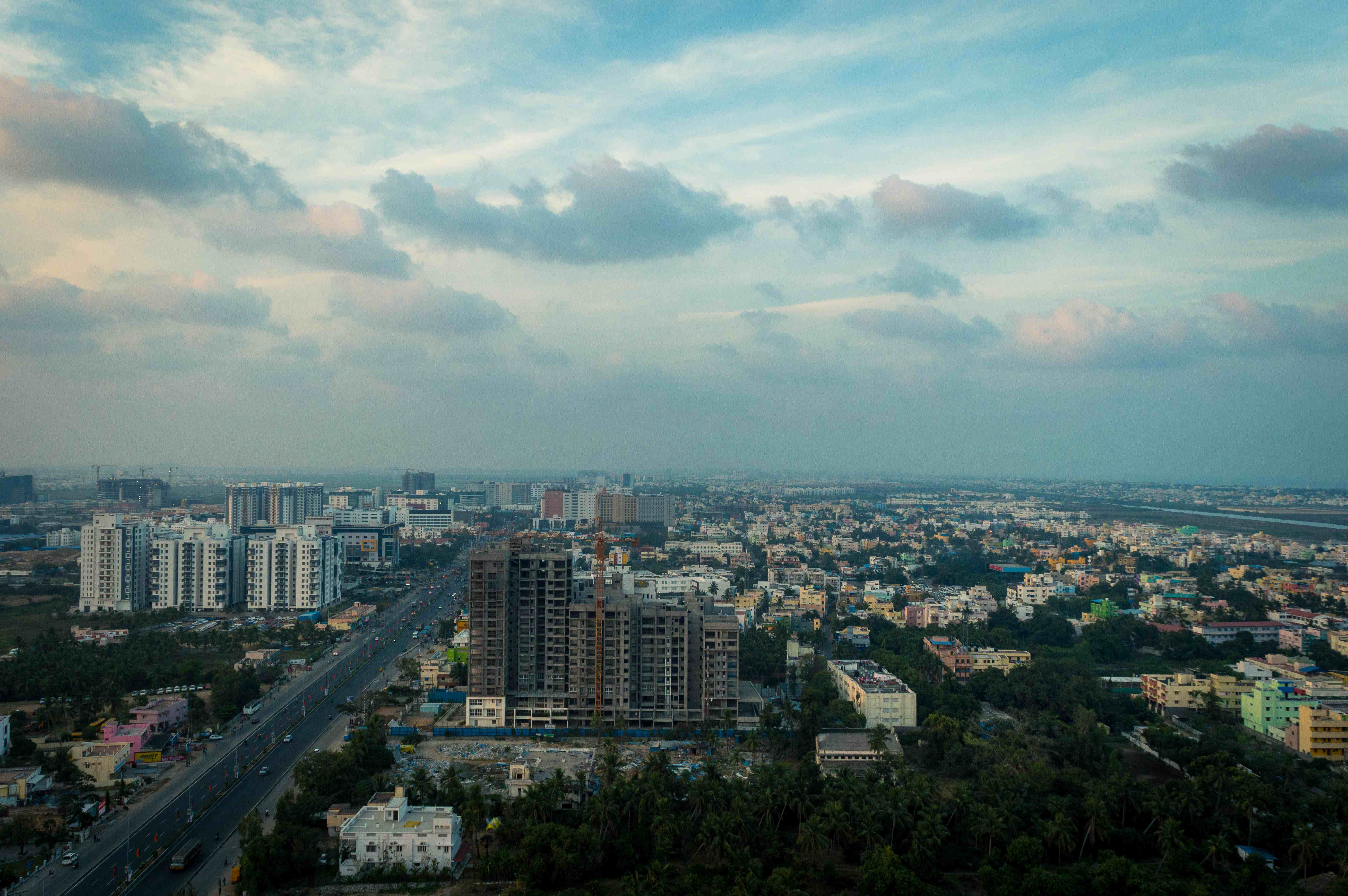 The IT Corridor of Chennai and the Buzzing Sholinganallur