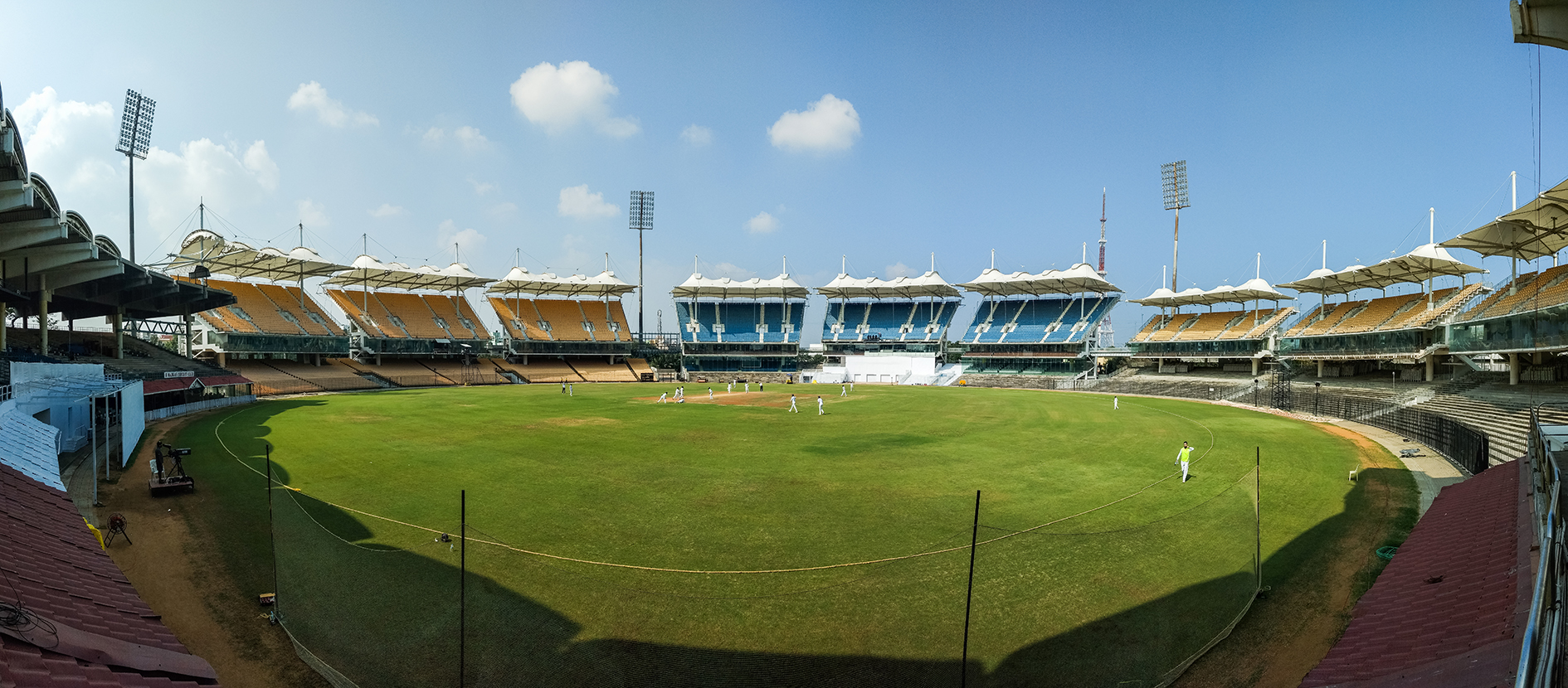 M. A. Chidambaram Stadium - LANDMARK OF MADRAS