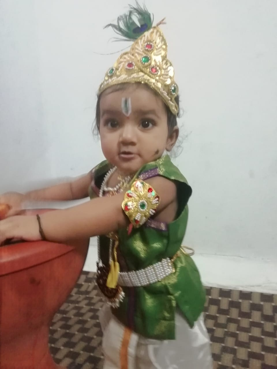 My little krishna