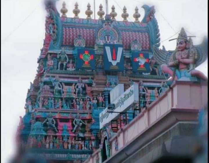 TOURISM AND CHENNAI. ( TRIPLICANE SRI PARTHASARATHY TEMPLE)