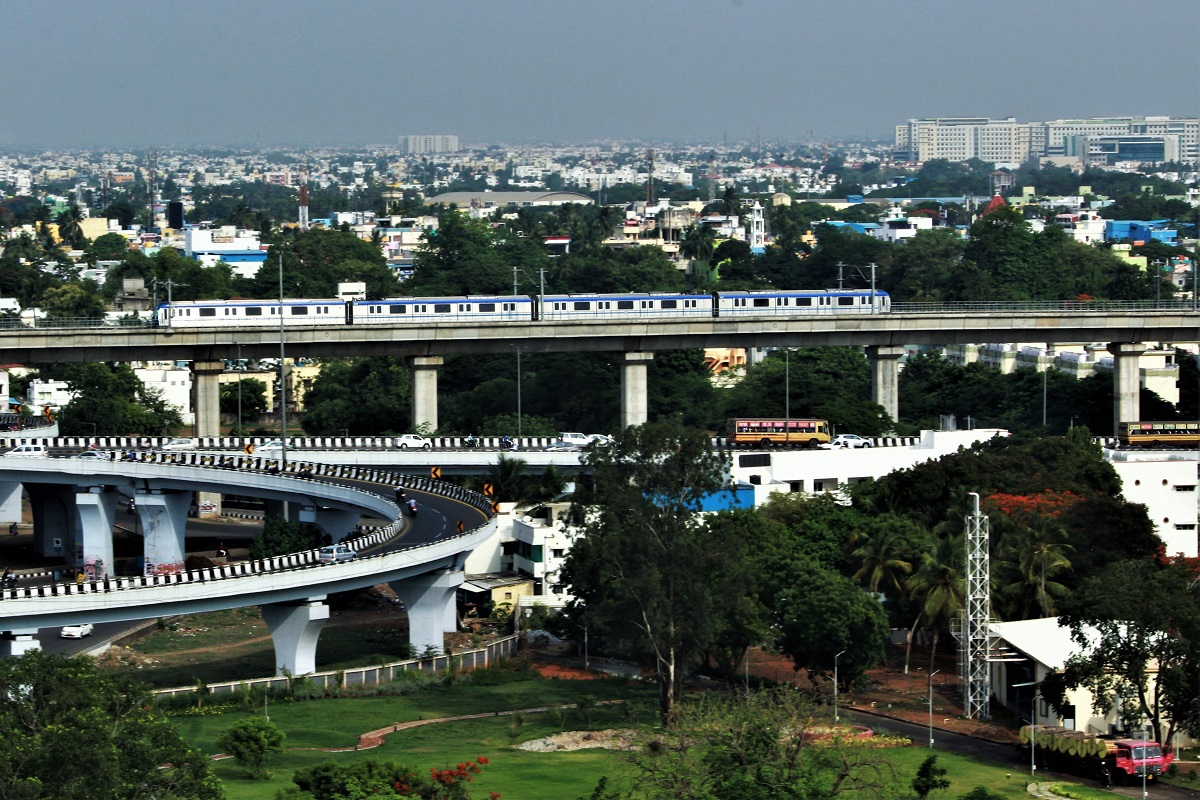 Chennai Metro - The City and the Train