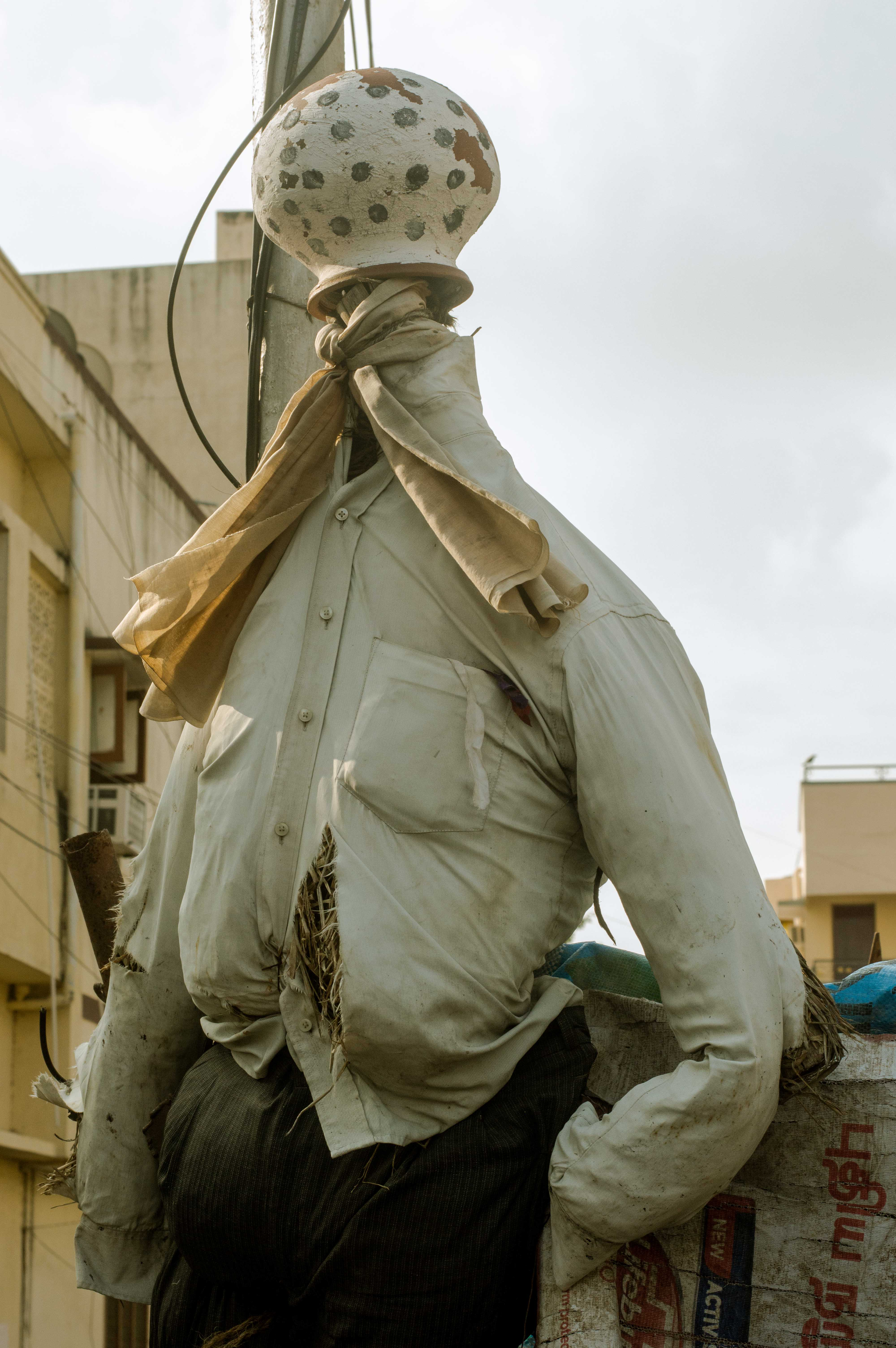 Even Scarecrows are Modern & Stylish in Chennai