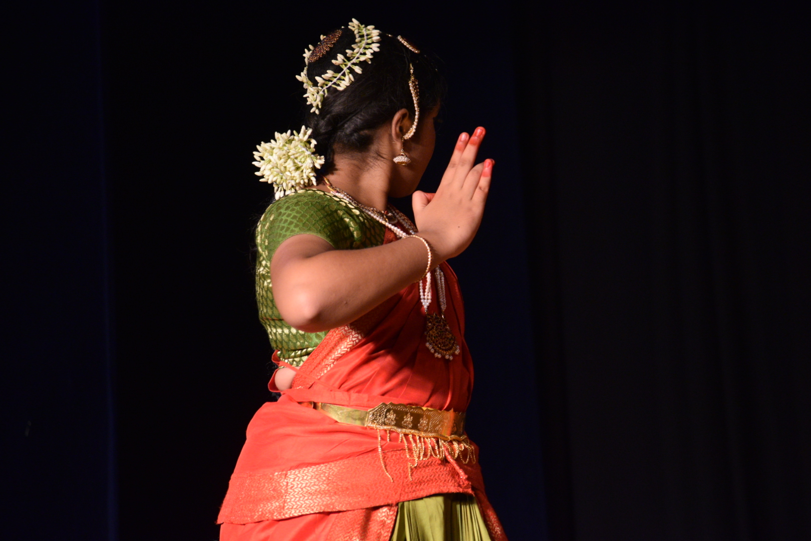 Costumes, Flowers, Muthras - Truly Bharathatyam is an art of Chennai